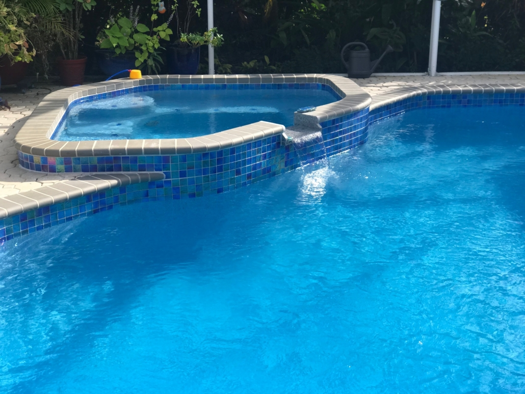 Pool Tile by Mr. Marcite