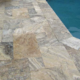 Pool Renovations by Mr. Marcite   Travertine Tile